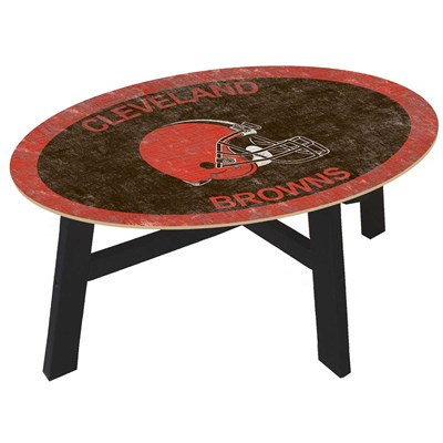 Cleveland Browns - Team Color Coffee Table