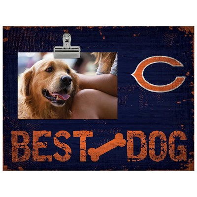 Chicago Bears - Best Dog Clip Frame
