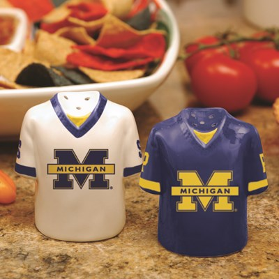 Jersey Salt & Pepper Shaker Set - Michigan