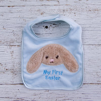 "Bunny ""My First Easter"" Bib"