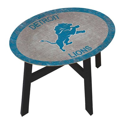 Detroit Lions - Team Color Side Table