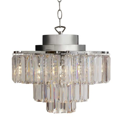 Cascading 3-Tier Wireless Chandelier Light