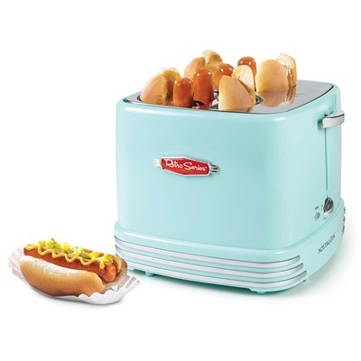 4-Slot Retro Hot Dog Toaster
