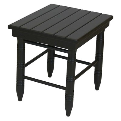 Round-Leg Table - Black