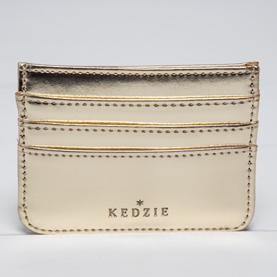 Women's Gold Cardholder Wallet