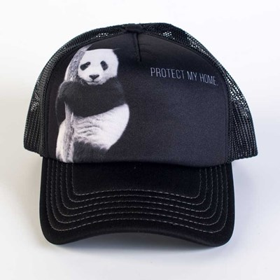 """Protect My Home"" Panda Bear Trucker Hat"