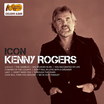 Exclusive Kenny Rogers - Icon LP
