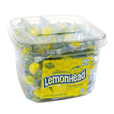 Lemonhead Tub - 150 Pieces