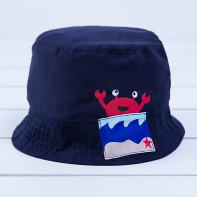Infant Crab Bucket Hat