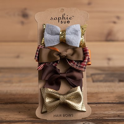 Harvest Hair Bow Set
