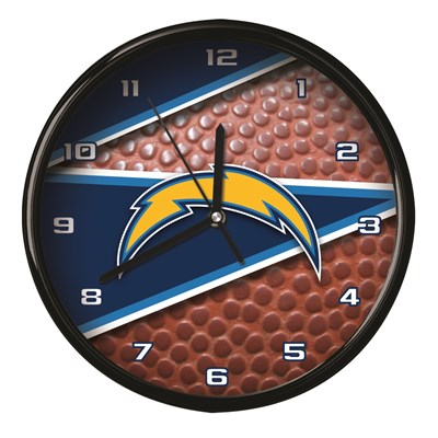 Los Angeles Chargers - Football Clock