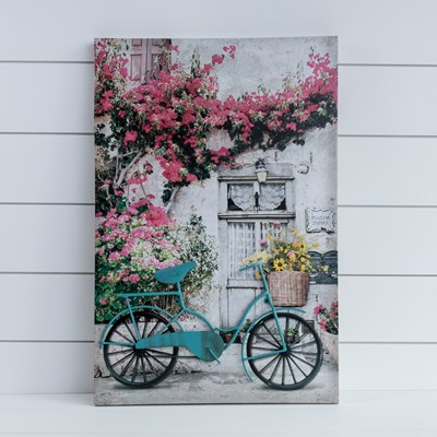 3D Bicycle Canvas