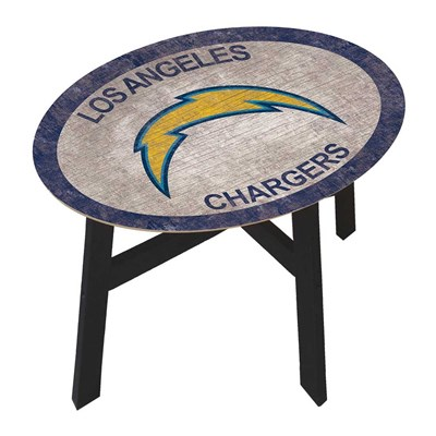 Los Angeles Chargers - Team Color Side Table