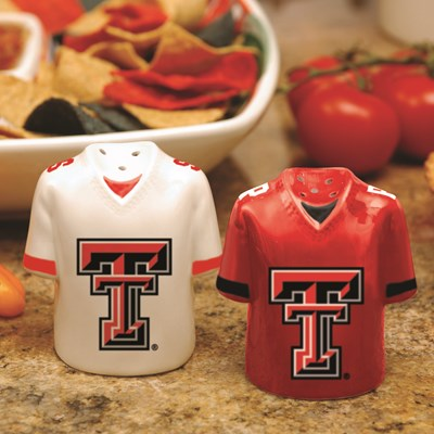 Jersey Salt & Pepper Shaker Set - Texas Tech