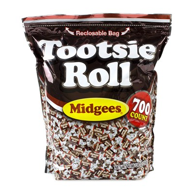 Tootsie Roll Midgees - 700 count