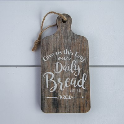 """Daily Bread"" Mini Bread Board"