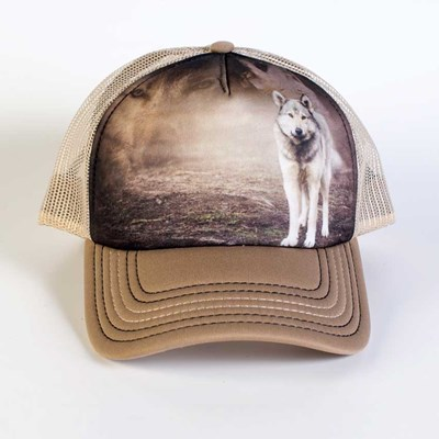 Gray Wolf Trucker Hat