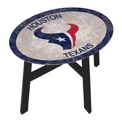 Houston Texans - Team Color Side Table