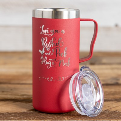 """Love You Bushel"" Coffee Mug - 20 Oz."