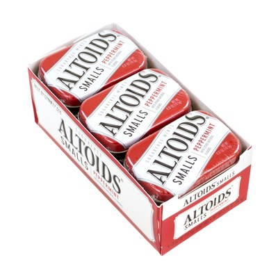 Altoids Sugar Free Peppermint Mints - 9 Count