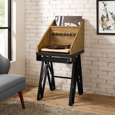 Crosley ® Brooklyn Record Player Stand