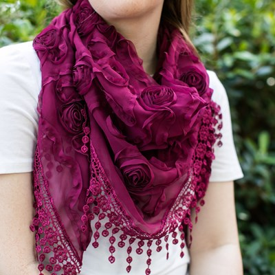 Women's Soutache Scarf
