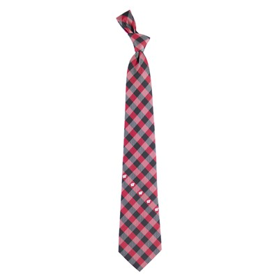 Check Pattern Tie - Wisconsin