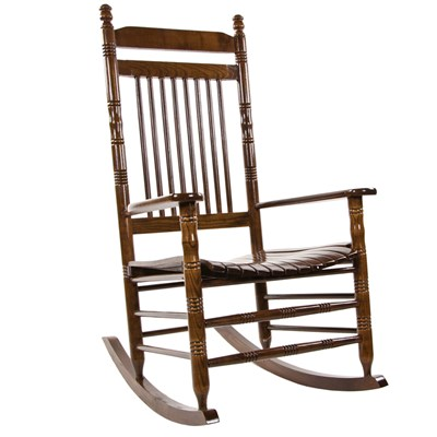 Slat Rocking Chair - Walnut