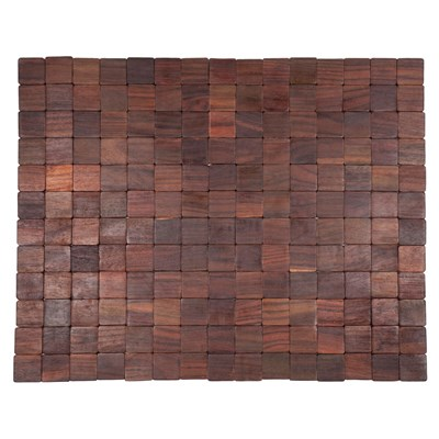 SM Exotic Wood Mat - Natural