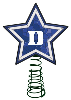 Duke Mosaic Tree Topper