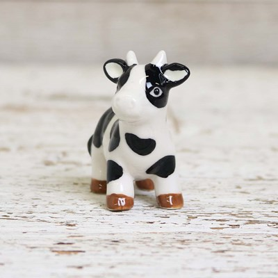 Mini Standing Cow Pepper Shaker
