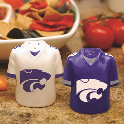 Jersey Salt & Pepper Shaker Set - Kansas State