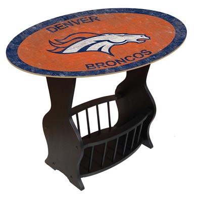Denver Broncos - Team Color End Table