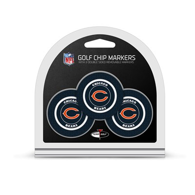 Golf Chip Markers - Chicago Bears