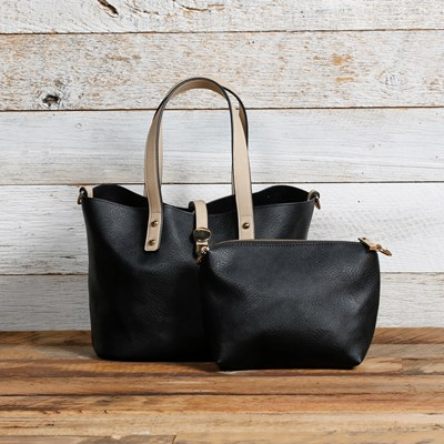 Black 2-in-1 Bag