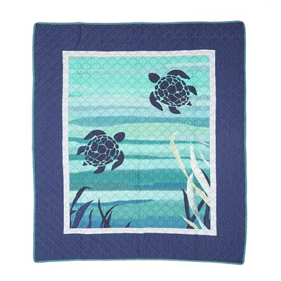 Summer Surf Throw by Donna Sharp