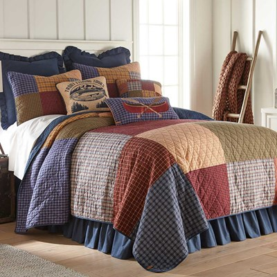 Lakehouse Quilt by Donna Sharp - Queen