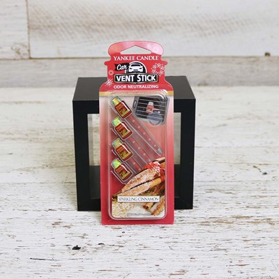 Yankee Candle Sparkling Cinnamon Vent Sticks