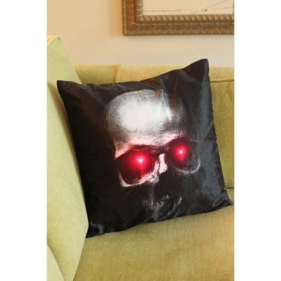 Skull Accent Pillow