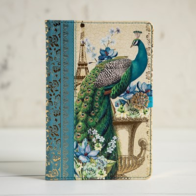 Embellished Peacock Journal