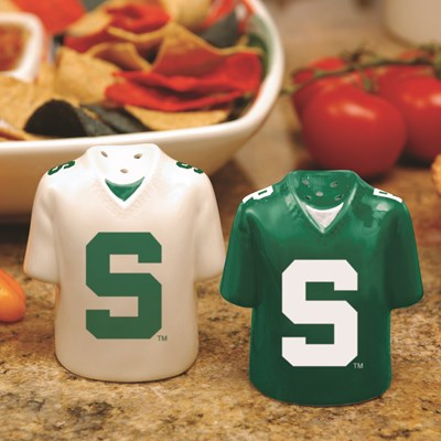 Jersey Salt & Pepper Shaker Set - Michigan State