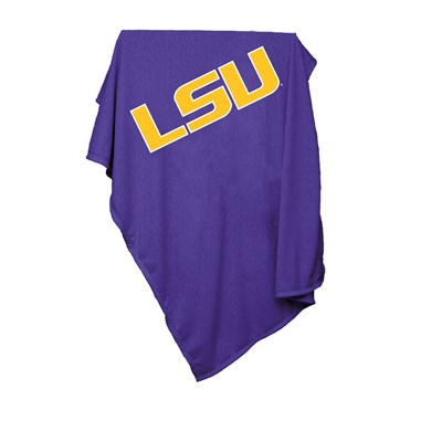 Sweatshirt Throw Blanket - LSU