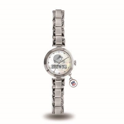 Cleveland Browns Ladies Charm Watch
