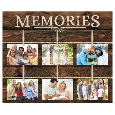 """Memories"" Wall Photo Board"