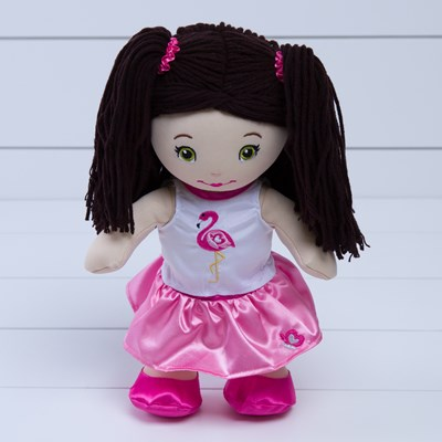 Butterflies Fiona Flamingo Doll