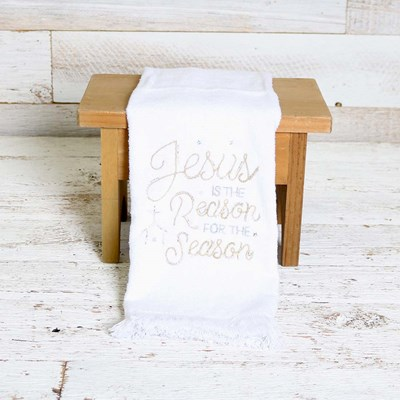 Jesus is the Reason Kitchen Towel