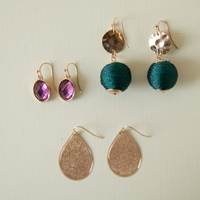 3-Piece Earring Set