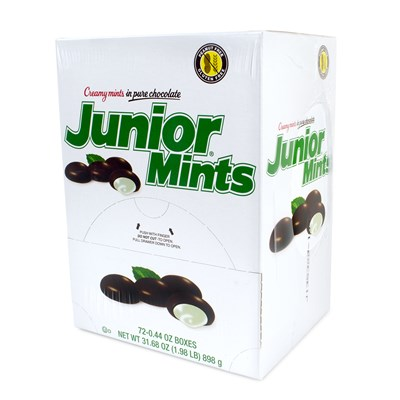 Junior Mints Mini Snack Packs 72-Piece Box