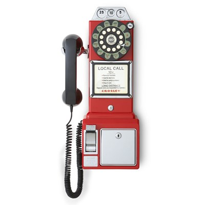 Crosley ® 1950's Payphone - Red