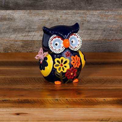 Ceramic Owl Accent Light